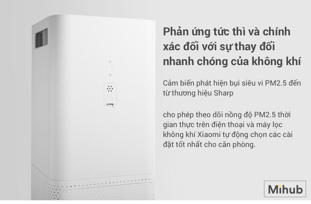 Các thông số Máy Lọc Không Khí Xiaomi MI Air Purifier 2