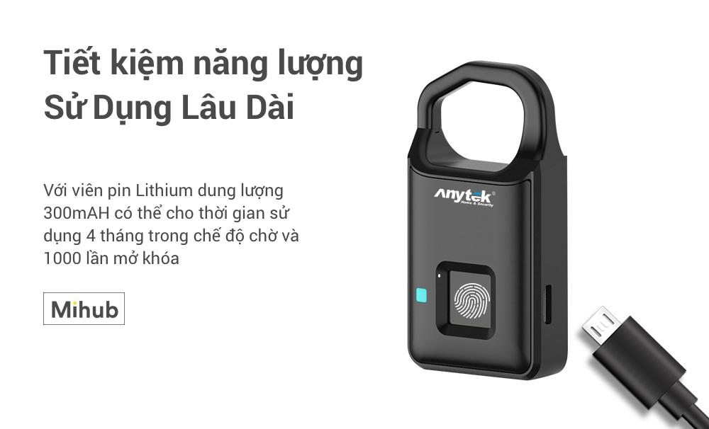 Có nên mua ổ khóa thông minh chống nước Anytek P4 không