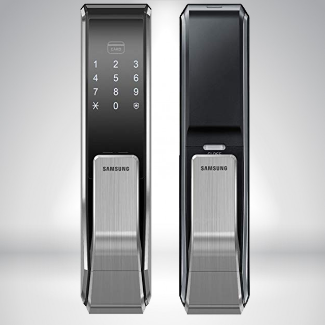 Product review of Electronic Lock Samsung SHS P717