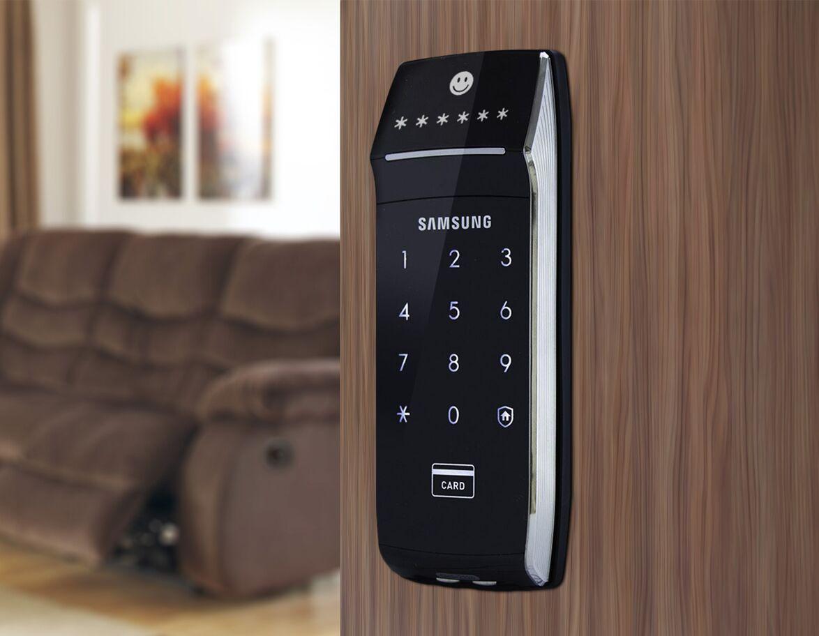 Khóa cửa điện tử thông minh Samsung SHS-2320 dùng có bền hay không