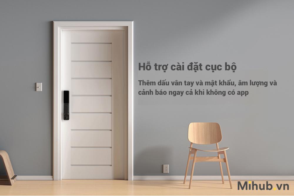 Hình ảnh của Khóa Cửa Thông Minh Cao Cấp Mi Smart Door Phiên Bản Push and Pull