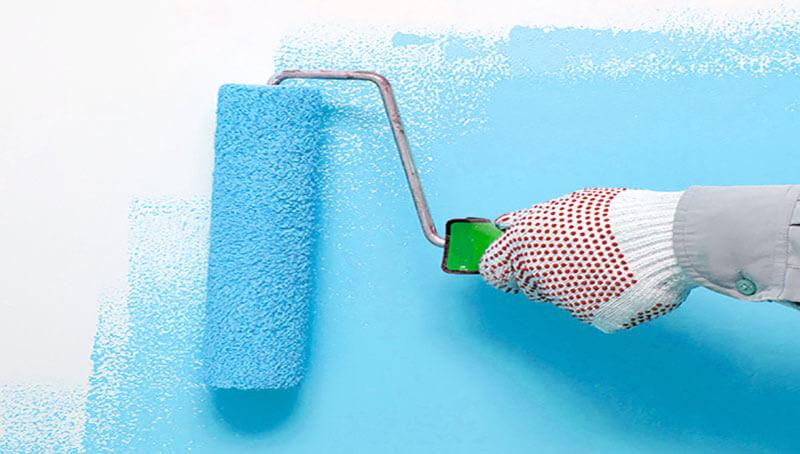 Chú ý đến việc sơn tường nhà