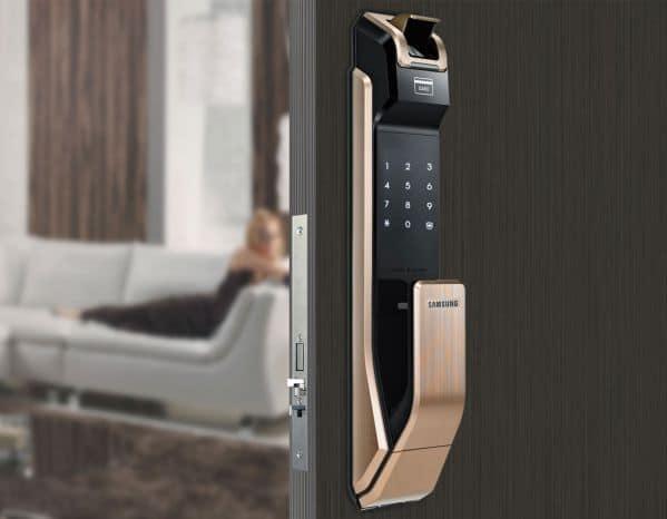 khóa cửa thông minh vân tay 2 chiều
