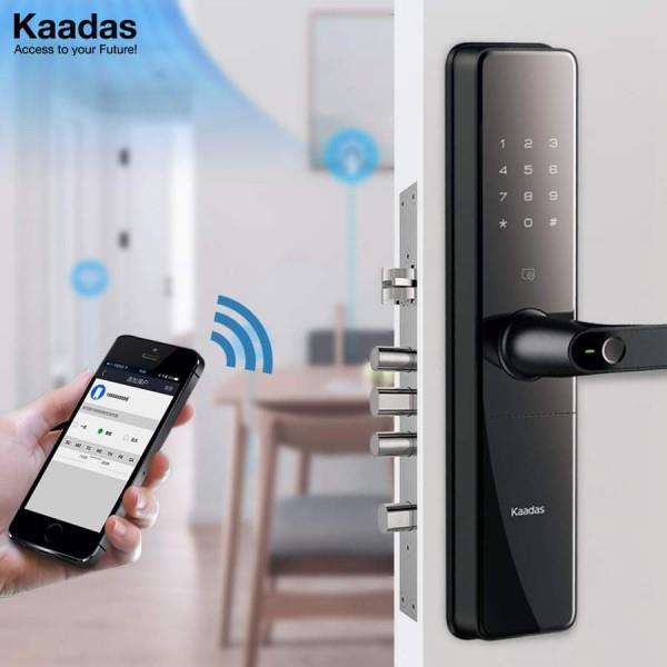 cách phân biệt khóa kaadas chính hãng