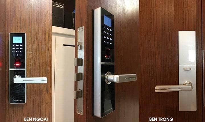 cách lắp khóa thông minh vào cửa đúng chuẩn