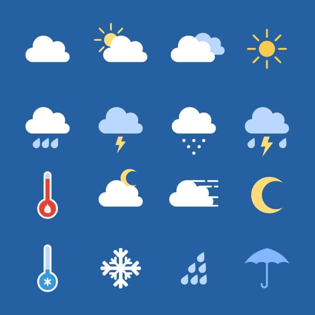 yêu tố thời tiết ảnh hưởng đến chất lượng khóa cửa thông minh